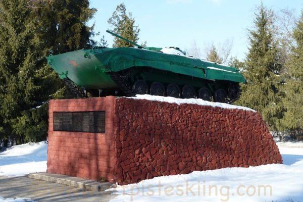 Tank from the Soviet - Afghan conflict - Karakol.